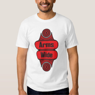 Arms Wide Tee Shirt