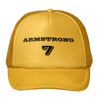 Armstrong 7 trucker hats