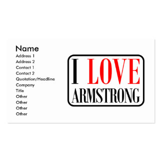 Armstrong, Alabama City Design Double-Sided Standard Business Cards (Pack Of 100)
