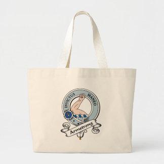 Armstrong Clan Badge Canvas Bag