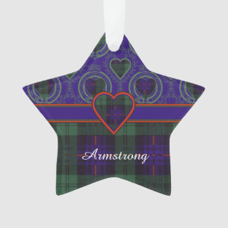Armstrong clan Plaid Scottish tartan