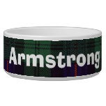 Armstrong clan Plaid Scottish tartan Bowl