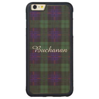 Armstrong clan Plaid Scottish tartan Carved® Maple iPhone 6 Plus Bumper Case
