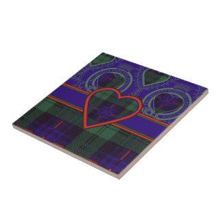 Armstrong clan Plaid Scottish tartan Ceramic Tile