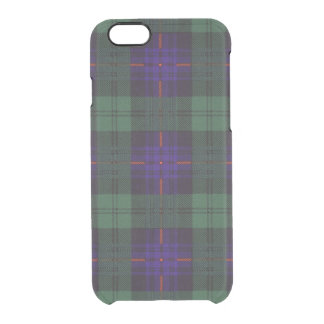 Armstrong clan Plaid Scottish tartan Clear iPhone 6/6S Case