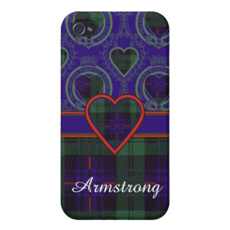 Armstrong clan Plaid Scottish tartan Covers For iPhone 4