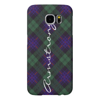 Armstrong clan Plaid Scottish tartan Samsung Galaxy S6 Case