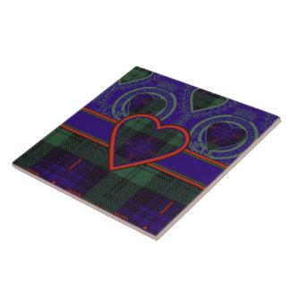 Armstrong clan Plaid Scottish tartan Tile