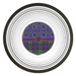 Armstrong clan Plaid Scottish tartan Pet Bowl