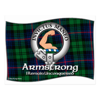 Armstrong Clan Postcard