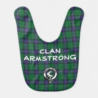Armstrong Clan Baby Bibs