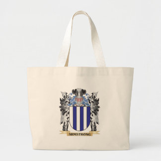 Armstrong Coat of Arms - Family Crest Large Tote Bag