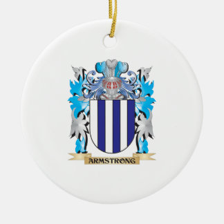 Armstrong Coat Of Arms Christmas Ornaments