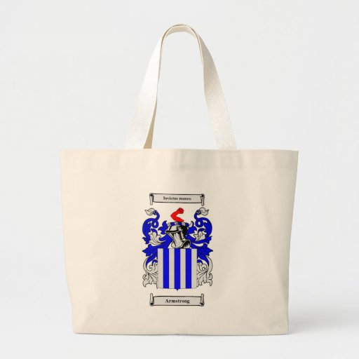 Armstrong Coat of Arms Tote Bag