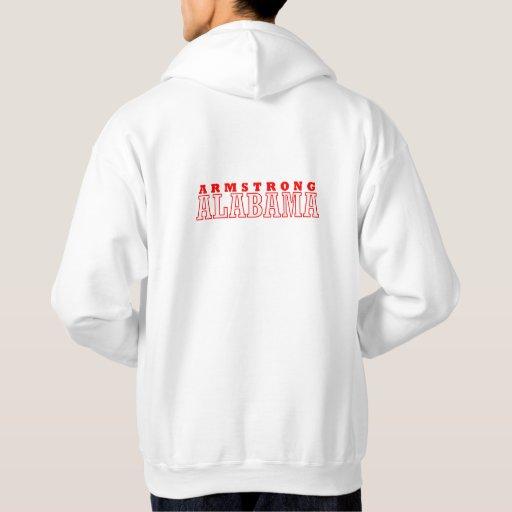Armstrong, diseño de la ciudad de Alabama Sudadera