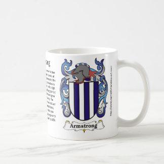 Armstrong Family Coat of Arms Mug