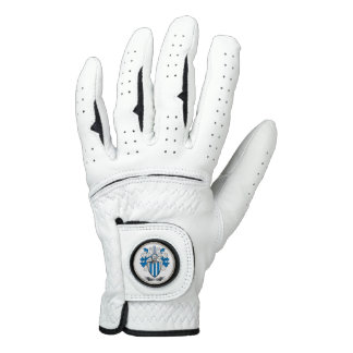 Armstrong Family Crest Coat of Arms Golf Glove