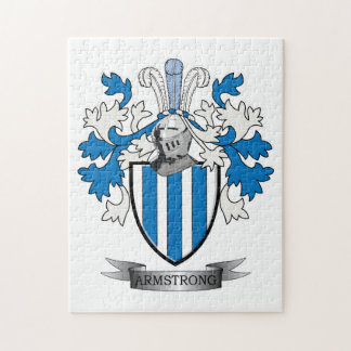 Armstrong Family Crest Coat of Arms Jigsaw Puzzle