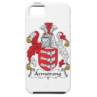 Armstrong Family Crest iPhone SE/5/5s Case