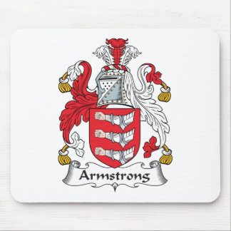 Armstrong Family Crest Mouse Pad