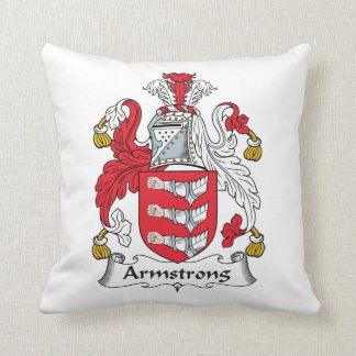 Armstrong Family Crest Pillow