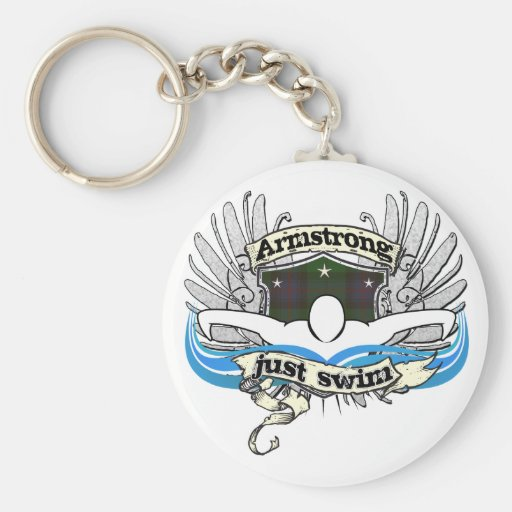 Armstrong Just Swim Key Chain