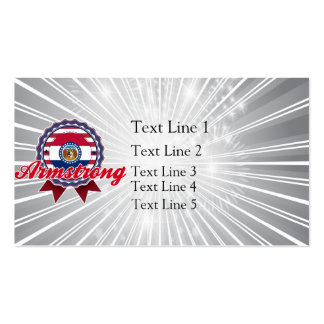 Armstrong, MO Business Card Template