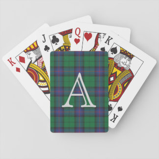 Armstrong Plaid Playing Cards