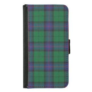 Armstrong Plaid Wallet Phone Case For Samsung Galaxy S5