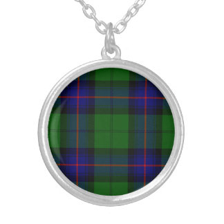 Armstrong Round Pendant Necklace