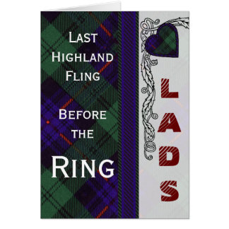 Armstrong Scottish Tartan Card