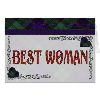 Armstrong Scottish Tartan Card