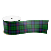 Armstrong Scottish Tartan Pattern Satin Ribbon