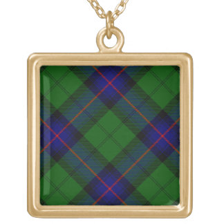 Armstrong Square Pendant Necklace