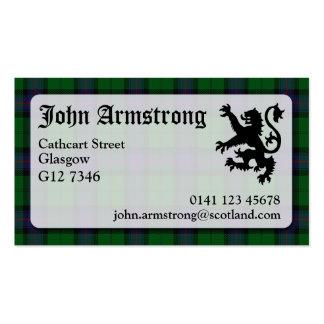 Armstrong Tartan Business Card