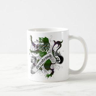 Armstrong Tartan Lion Coffee Mug