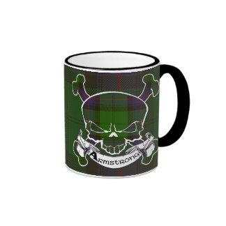 Armstrong Tartan Skull Mug