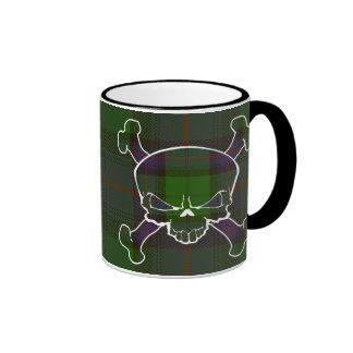 Armstrong Tartan Skull No Banner Mug