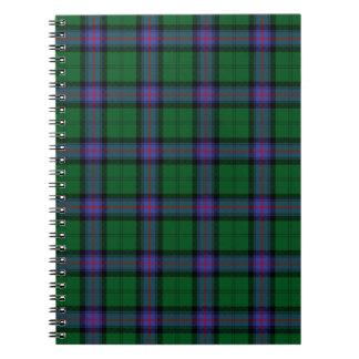 Armstrong Tartan Writing Pad Spiral Notebook