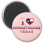 Armstrong, Texas Fridge Magnets