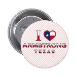 Armstrong, Texas Pinback Button