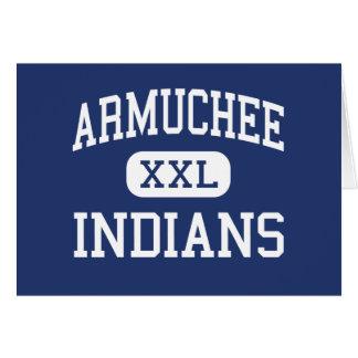 Armuchee Indians Middle Armuchee Georgia Greeting Card