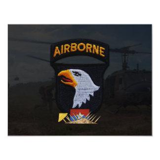 army 101st airborne division nam patch custom invites