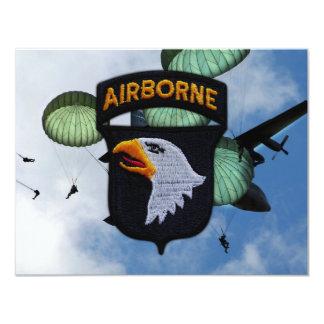 army 101st airborne division nam patch invite