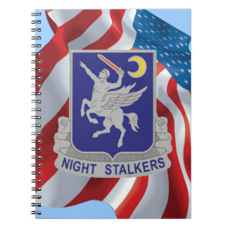 Army 160th Special Operations Regiment Spiral Note Books