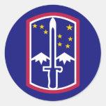 Army 172nd Infantry Brigade Sticker