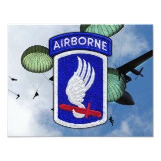 army 173rd airborne brigade nam patch card