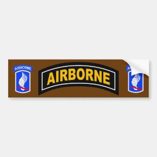 Army 173rd Brigade Combat Team Bumper Sticker