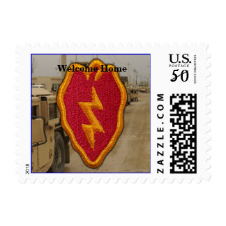 Army 25th infantry division desert storm vets postage