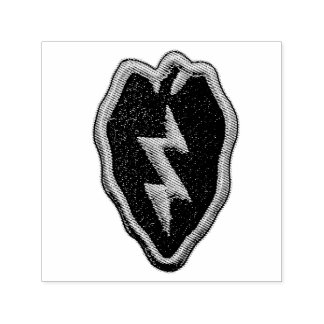 Army 25th Infantry Division Tropic Lightning Patch Self-inking Stamp
